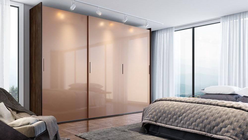 Móveis planejados para Dormitorios em santos coleção Fifty collection